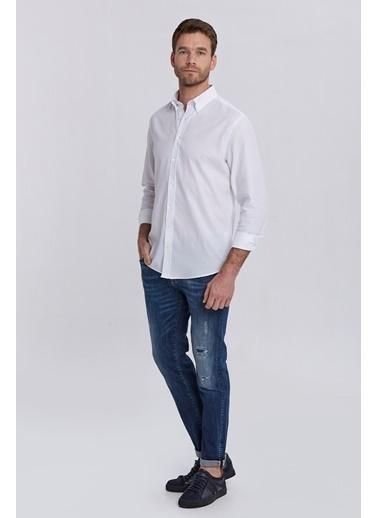 Hemington Oxford Gömlek Beyaz